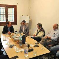 El gobernador Bordet se reunió con la Cámara Exportadora Citrícola