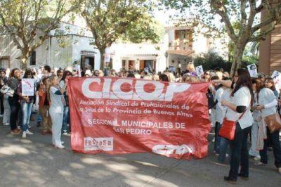 Médicos agremiados a CICOP anuncian continuidad del paro y movilización