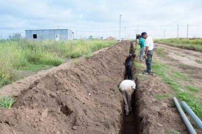 Avanzan los trabajos para llevar agua de calidad al sector norte
