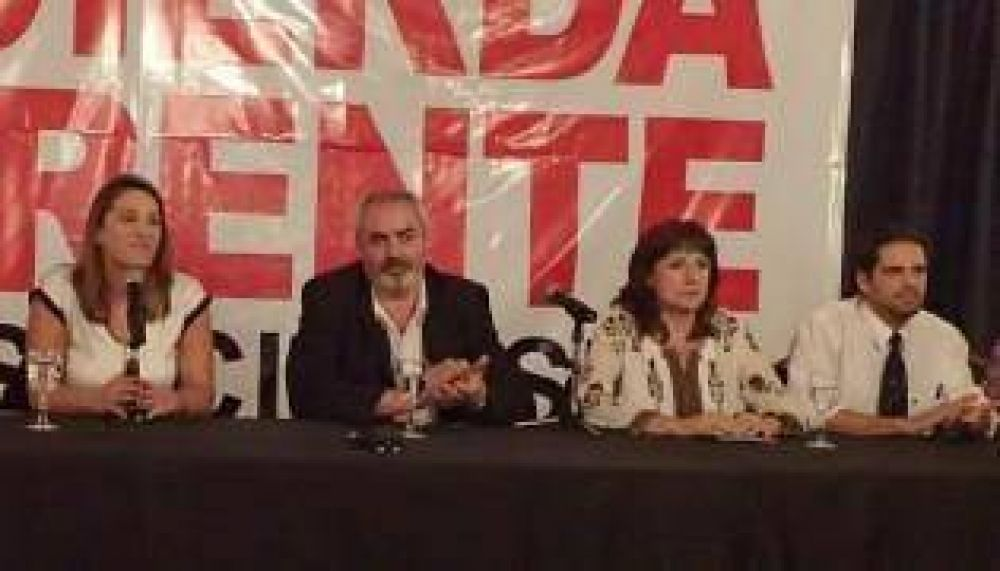 "Legislativas: la izquierda promete golpear ""con un solo puño"""