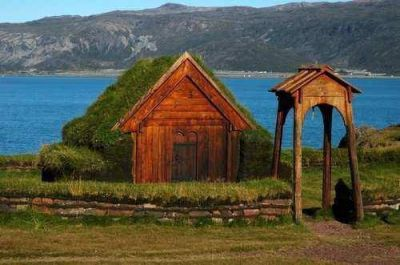 Thjdhild, la vikinga que hizo construir en el Siglo X la primera iglesia cristiana en América