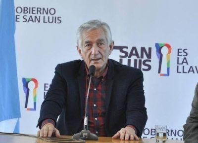 Alberto Rodríguez Saá rechazó la represión a la protesta social
