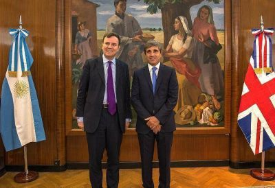 Gran Bretaña anunció créditos para promover inversiones en Argentina