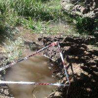 Vecinos sin agua en el barrio Ameghino