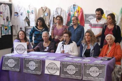 Presentaron actividades conmemorativas a 41 años del Golpe Cívico Militar