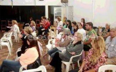 Retiro espiritual en la parroquia de Quequén