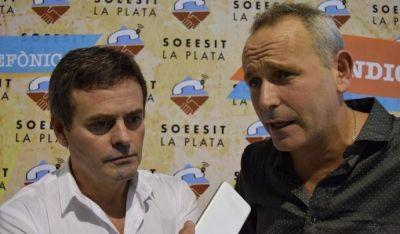 SOEESIT La Plata celebró el día del telefónico con una megafiesta en Ensenada