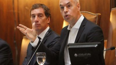 Rodríguez Larreta negó discrepancias con Macri por piquetes: