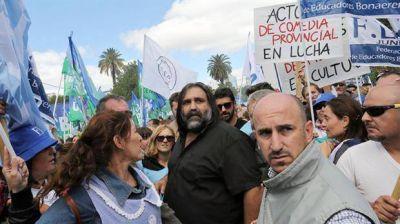 Cara a cara, Frigerio y Baradel avanzaron en una posible salida para el conflicto docente