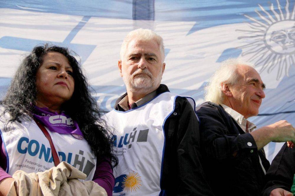 La Conadu Histórica arranca una doble jornada de paro nacional