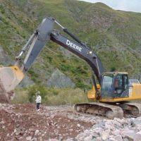 Trabajo intenso para mejorar el camino a Punta Corral