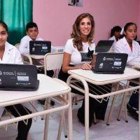 La Gobernadora inauguró refacción y ampliación de escuela de La Guanaca