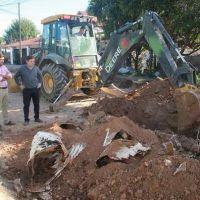San Miguel inició un plan de pavimentación en barrio San Jorge