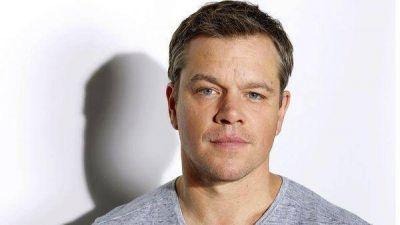 Matt Damon, protagonista del Día Internacional del Agua