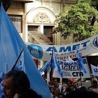 AMET Entre Ríos en la Marcha Federal