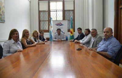 Legisladores de Cambiemos llegaron a Olavarría y respaldaron a Galli