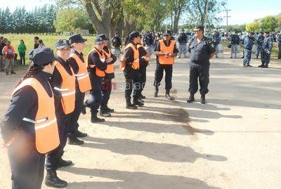 Fue exitoso el operativo de seguridad durante la visita de Macri y Vidal a la firma Cicaré