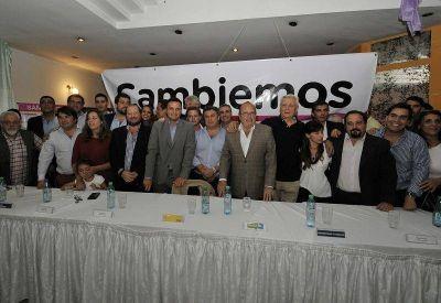 Con intendentes y funcionarios, Cambiemos hizo pie en San Martín