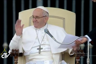 Audiencia: Oriente Medio, Egipto y Tierra Santa, el Papa invita a confiar en la presencia de Cristo