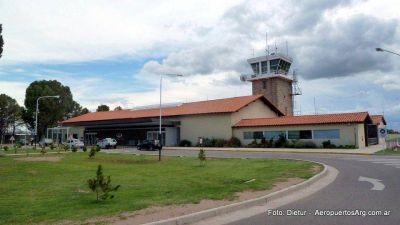 Senadores por San Luis piden informes por la suspensión de obras en el aeropuerto