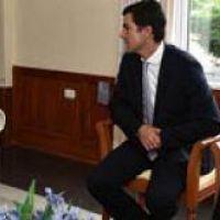 Uñac se reunió con Urtubey antes del acto en Salta