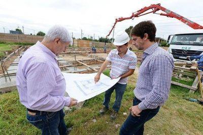 Andreotti supervisó la construcción de la nueva UDI en Virreyes Oeste