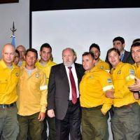 Reconocimiento al personal que combatió los incendios rurales