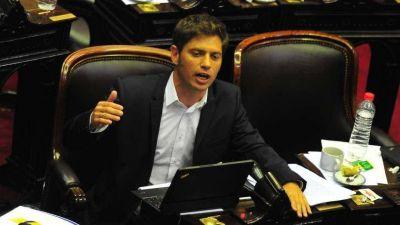 En Diputados, Axel Kicillof cargó contra el Gobierno: