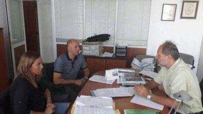 Inundaciones: Legisladores de la zona norte de la 4ta Sección Electoral se reunieron con el Ingeniero Rastelli
