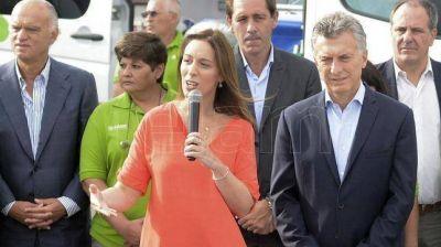 """Macri afirmó que Vidal llegó para hacer una """"revolución"""" en la provincia de Buenos Aires"""