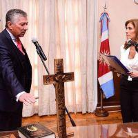 La Gobernadora tomó juramento al Fiscal de Estado