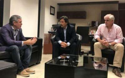 Sáenz recibió al senador por Orán González y analizaron la situación del norte provincial
