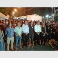 Uñac participó de la vigilia por el 'Día de la Memoria por la Verdad y la Justicia'