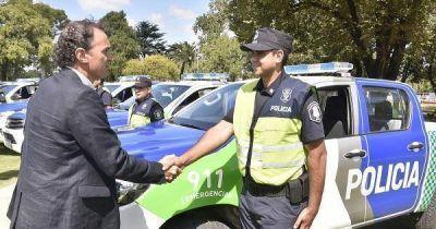 San Fernando, San Martín y San Isidro recibieron nuevas patrullas