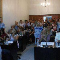 El Concejo Deliberante realizó una sesión especial por el Día de la Memoria