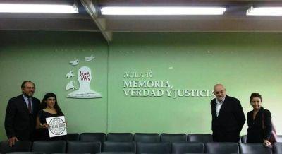 """Se inauguró el aula """"Memoria, Verdad y Justicia"""""""