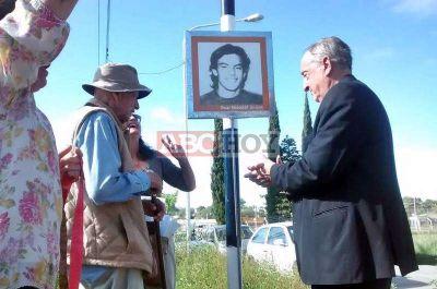 Las calles del Desarrollo Urbanístico homenajean a tandilenses desaparecidos en dictadura