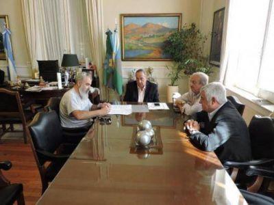 El Ejecutivo y el Sindicato de Trabajadores Municipales firmaron el acuerdo salarial
