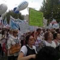 Docentes bolivarenses participaron de la multitudinaria Marcha Federal