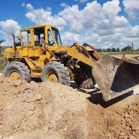 Construyen badén en El Perdido y piden transitar con precaución
