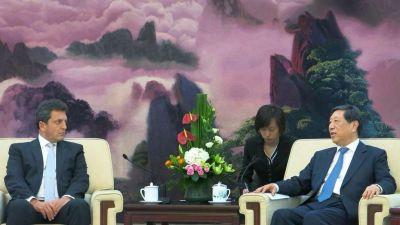 En China, Massa pidió