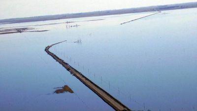 Un estudio satelital de la laguna La Picasa revela una situación hídrica crítica