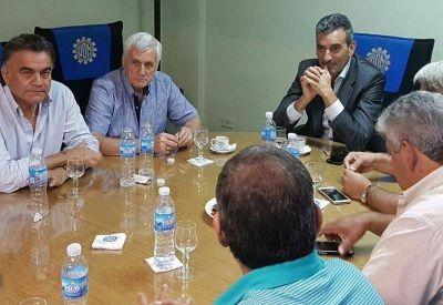 Randazzo analizó la actualidad política con dirigentes de la UOM