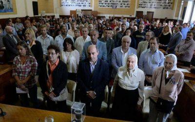 La Municipalidad conmemoró un nuevo aniversario del Golpe de Estado de 1976
