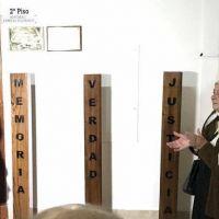 Se inauguró un monumento en homenaje a los desaparecidos