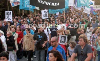 A 41 años del golpe militar, se conmemoró el Día de la Memoria