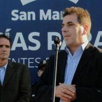 Ritondo en San Martín: Aseguró que las policías locales seguirán en funcionamiento