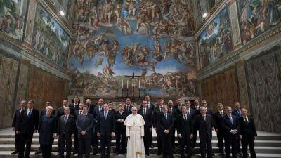 El Papa con el liderazgo de Europa: