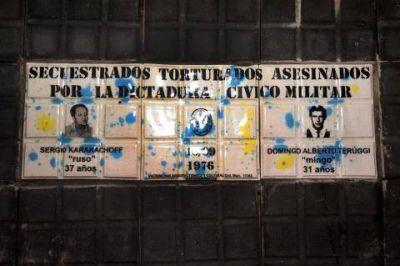 En La Plata, La Municipalidad homenajeó a dos militantes asesinados en la dictadura