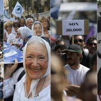 En multitudinaria marcha, organismos de DDHH lanzaron duras críticas al Gobierno